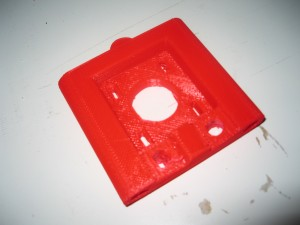 The new top vertex for the hacklab reprap integrates the 3 components from the old version.