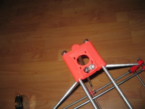 New z-motor-mount on Christopher Olah's RepRap