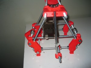 Rob's Mini RepRap with old parts.