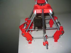 Rob's Mini RepRap with old parts.