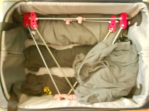 Christopher Olah's RepRap in his suitcase