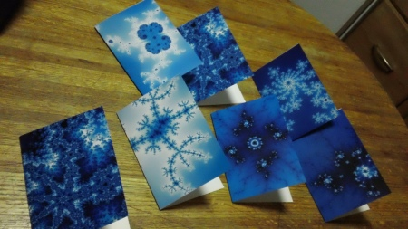 Christopher Olah's fractal Christmas cards from 2011