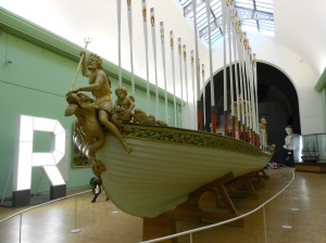 Boat at le musée de la marine