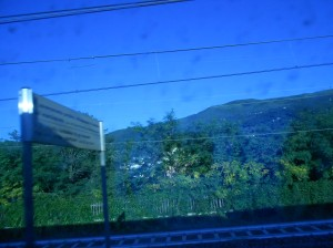 Italy out of a Train Window