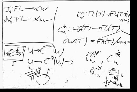 Blackboard image cleaned by 4 layer convolutional network.